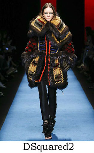 DSquared2 Fall Winter 2016 2017 Style For Women Look 1