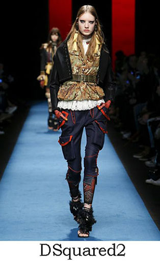DSquared2 Fall Winter 2016 2017 Style For Women Look 11