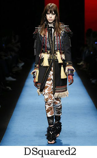 DSquared2 Fall Winter 2016 2017 Style For Women Look 12
