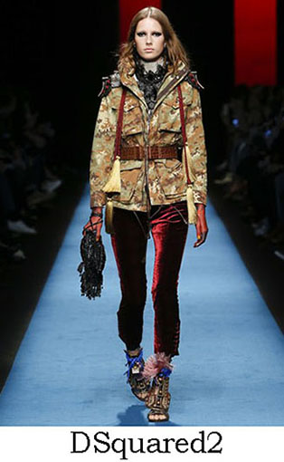 DSquared2 Fall Winter 2016 2017 Style For Women Look 13