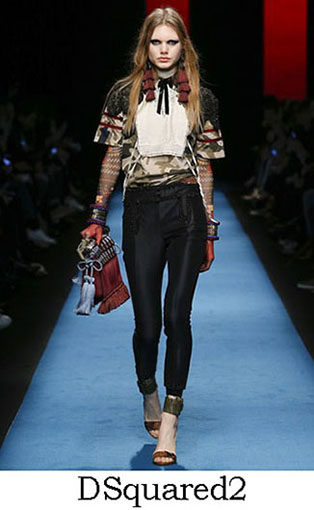 DSquared2 Fall Winter 2016 2017 Style For Women Look 16