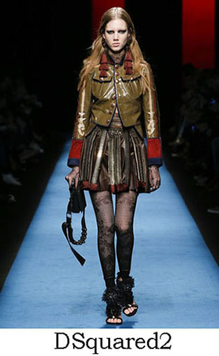 DSquared2 Fall Winter 2016 2017 Style For Women Look 18