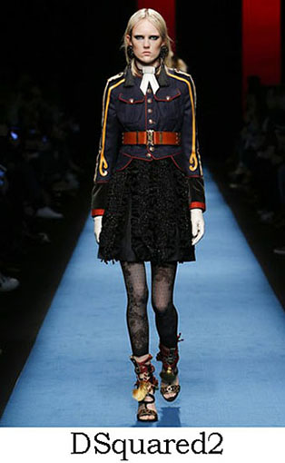 DSquared2 Fall Winter 2016 2017 Style For Women Look 20