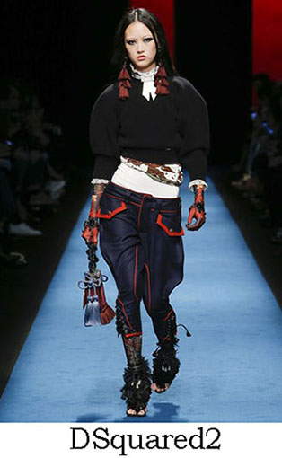 DSquared2 Fall Winter 2016 2017 Style For Women Look 26