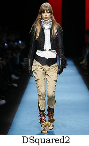 DSquared2 Fall Winter 2016 2017 Style For Women Look 3