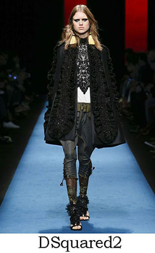 DSquared2 Fall Winter 2016 2017 Style For Women Look 34