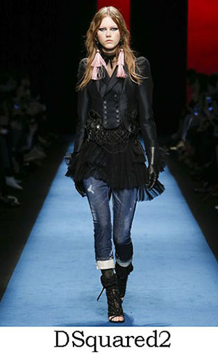 DSquared2 Fall Winter 2016 2017 Style For Women Look 35