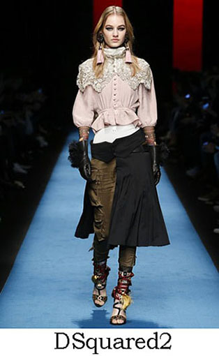 DSquared2 Fall Winter 2016 2017 Style For Women Look 5