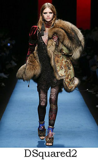 DSquared2 Fall Winter 2016 2017 Style For Women Look 9