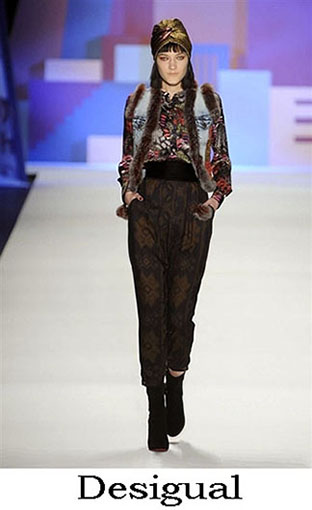 Desigual Fall Winter 2016 2017 Lifestyle For Women Look 24