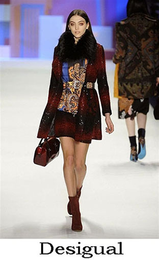 Desigual Fall Winter 2016 2017 Lifestyle For Women Look 5