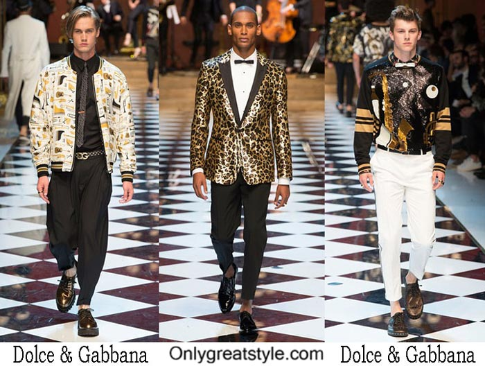 Dolce Gabbana Spring Summer 2017 Fashion Show For Men