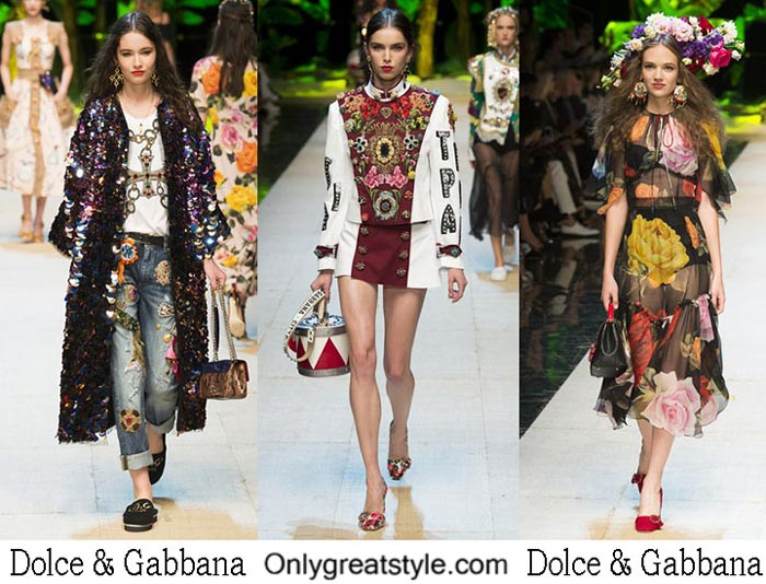 Dolce Gabbana Spring Summer 2017 Fashion Show For Women