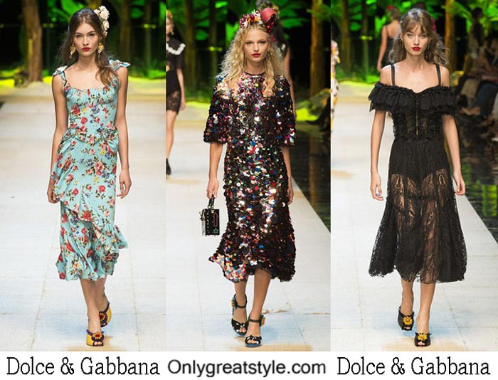Dolce Gabbana Spring Summer 2017 Lifestyle Clothing