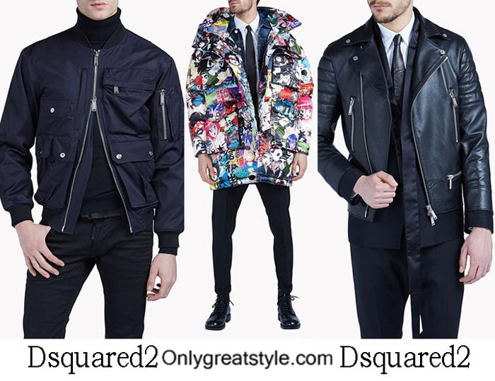 Dsquared2 Jackets Fall Winter 2016 2017 For Men