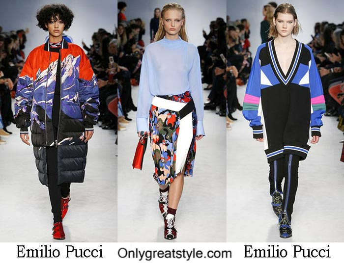 Emilio Pucci Fall Winter 2016 2017 Fashion For Women