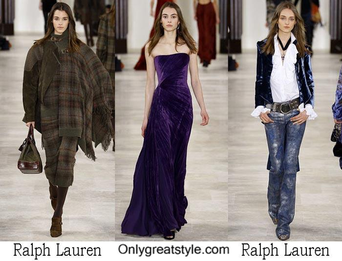 Ralph Lauren Fall Winter 2016 2017 Lifestyle For Women