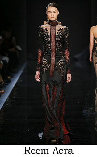 Reem Acra Fall Winter 2016 2017 Fashion Clothing Look 27
