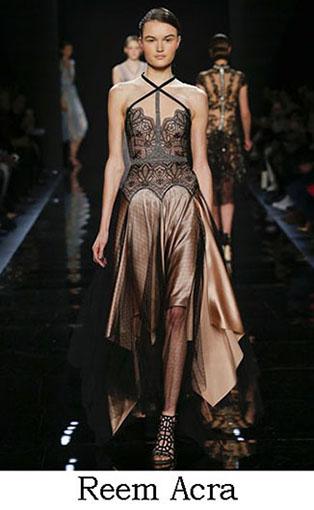 Reem Acra Fall Winter 2016 2017 Fashion Clothing Look 3
