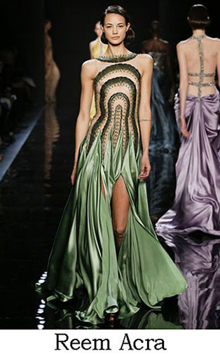 Reem Acra Fall Winter 2016 2017 Fashion Clothing Look 37