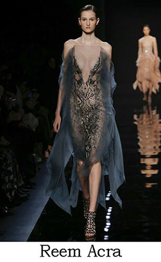 Reem Acra Fall Winter 2016 2017 Fashion Clothing Look 9