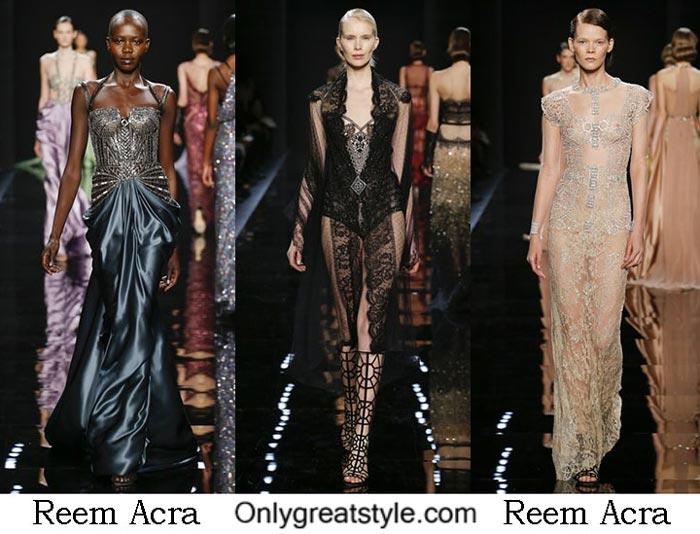 Reem Acra Fall Winter 2016 2017 Fashion Clothing