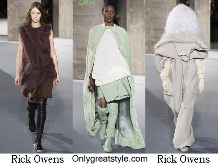 Rick Owens Fall Winter 2016 2017 Lifestyle For Women