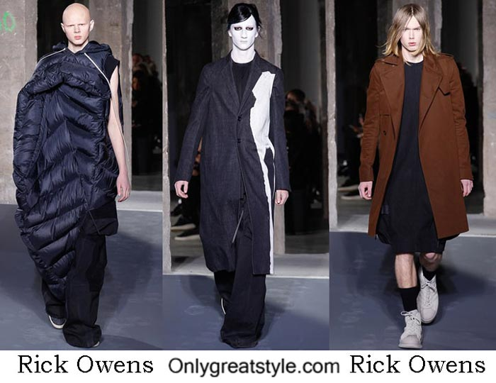 Rick Owens Fall Winter 2016 2017 Style Brand For Men