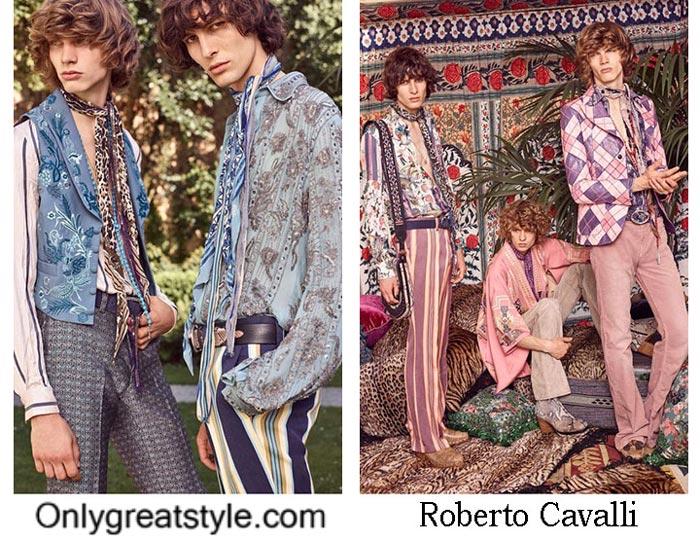 Roberto Cavalli Spring Summer 2017 Fashion Clothing For Men