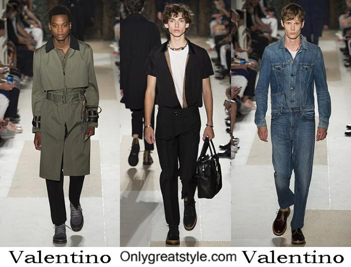 Valentino Spring Summer 2017 Fashion Clothing For Men