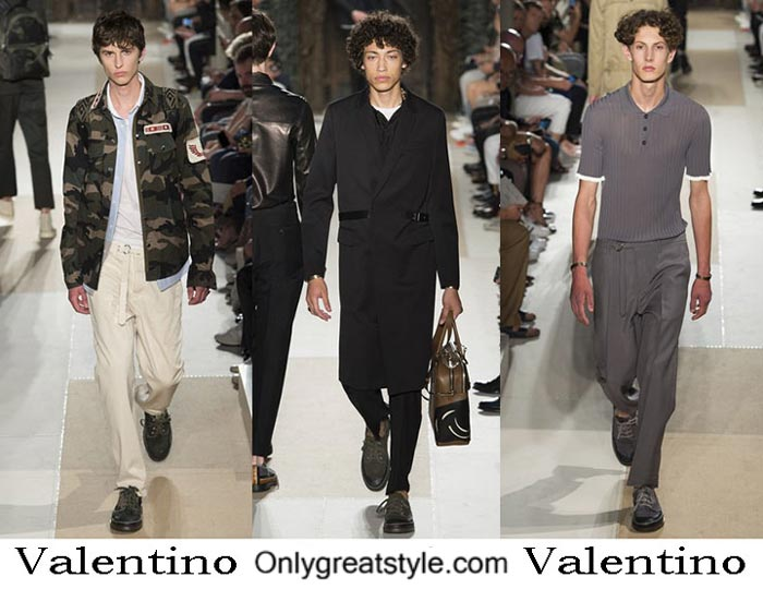 Valentino Spring Summer 2017 Fashion Show For Men