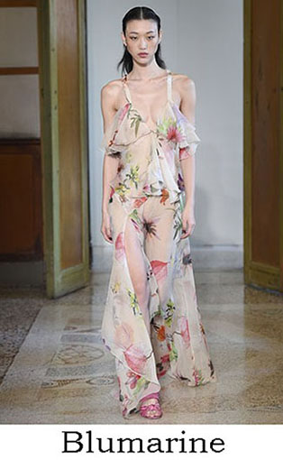 Blumarine Spring Summer 2017 Fashion Brand Style Look 33