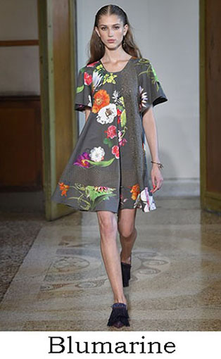 Blumarine Spring Summer 2017 Fashion Brand Style Look 6