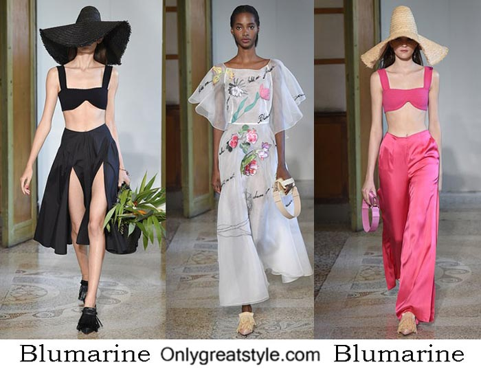 Blumarine Spring Summer 2017 Fashion Brand Style Women