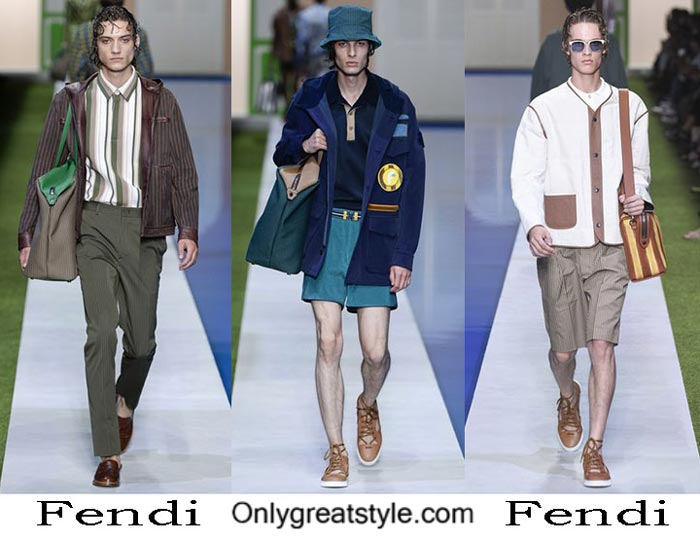 Fendi Spring Summer 2017 Fashion Clothing For Men