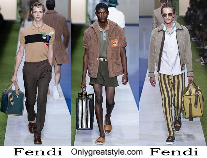 Fendi Spring Summer 2017 Fashion Show For Men