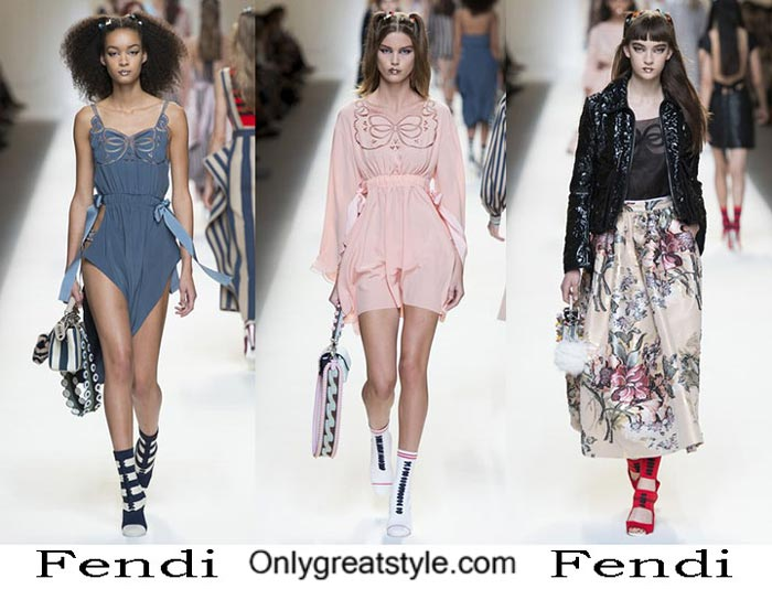 Fendi Spring Summer 2017 Fashion Show For Women