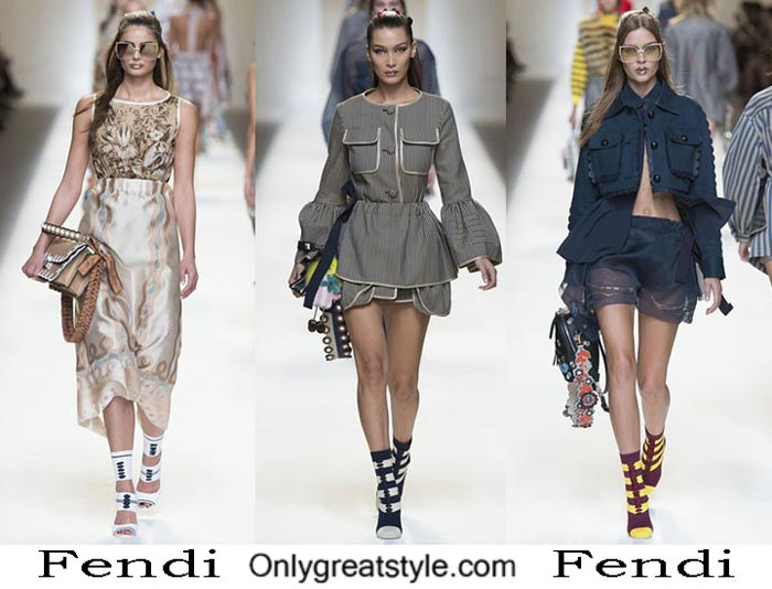 Fendi Spring Summer 2017 Lifestyle Clothing For Women
