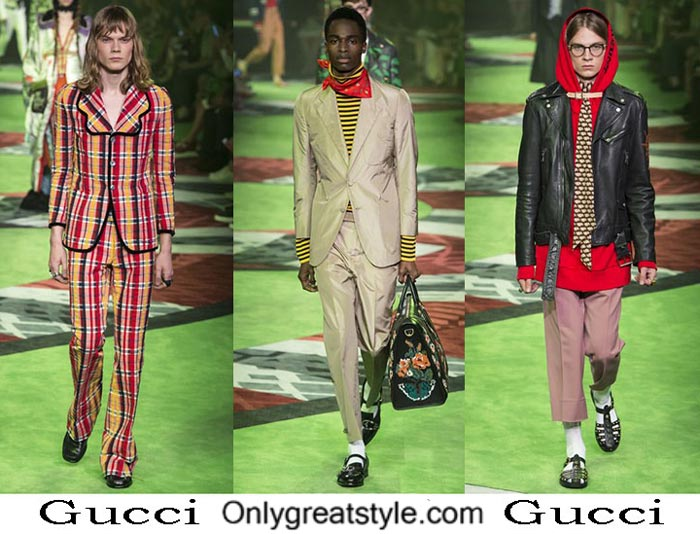 Gucci Spring Summer 2017 Fashion Show For Men