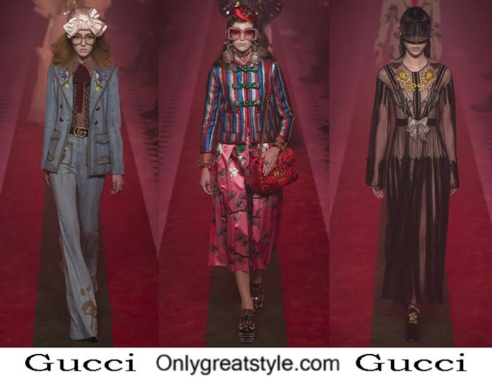 Gucci Spring Summer 2017 Fashion Show For Women