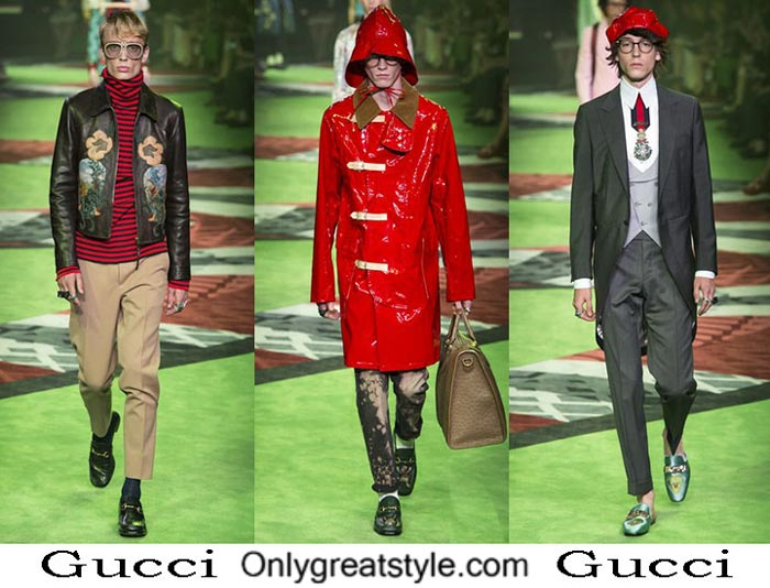 Gucci Spring Summer 2017 Lifestyle Clothing For Men