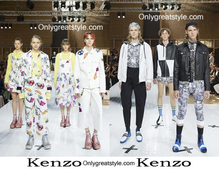 Kenzo Spring Summer 2017 Fashion Men And Women