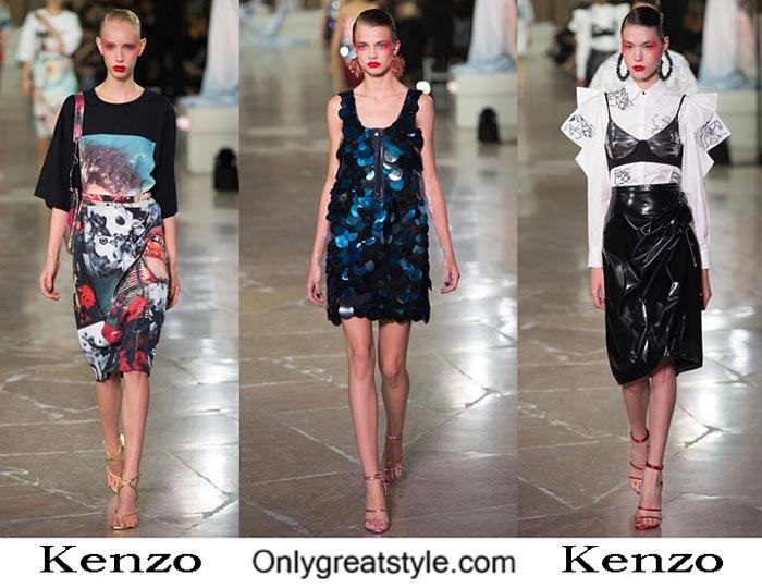 Kenzo Spring Summer 2017 Fashion Show For Women