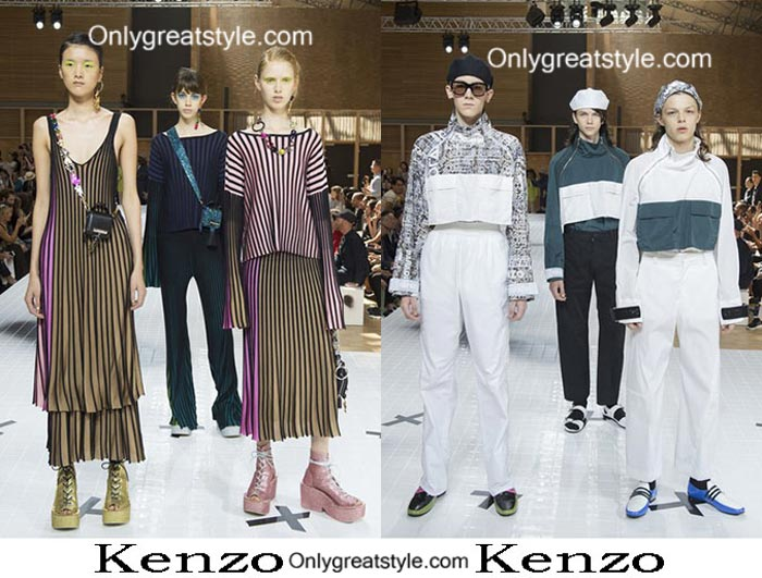 Kenzo Spring Summer 2017 Fashion Show Men And Women