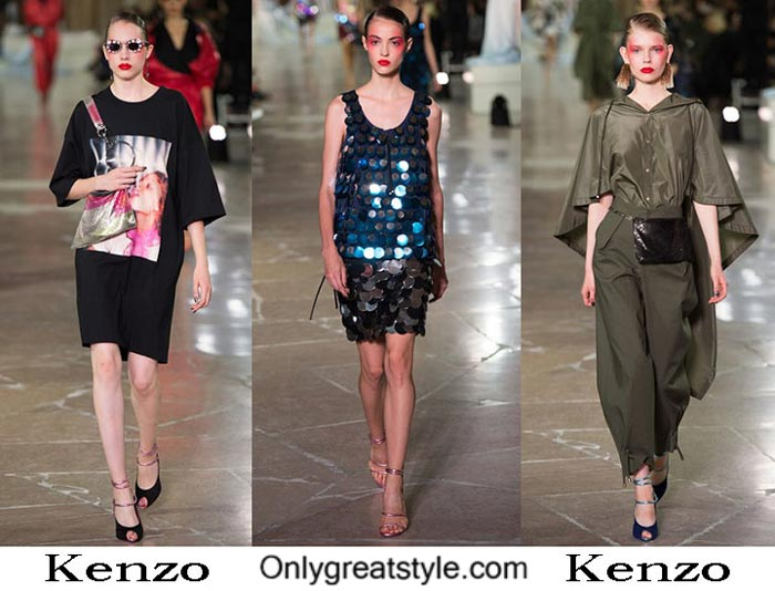 Kenzo Spring Summer 2017 Lifestyle Clothing For Women