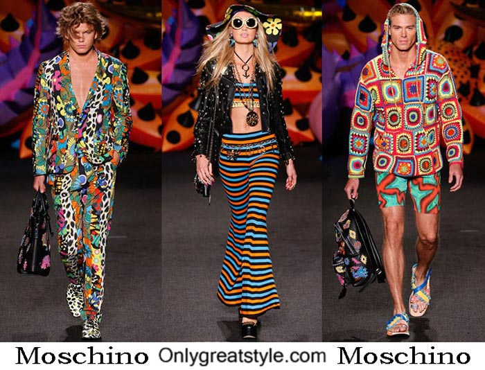 Moschino Spring Summer 2017 Brand Style Men Women