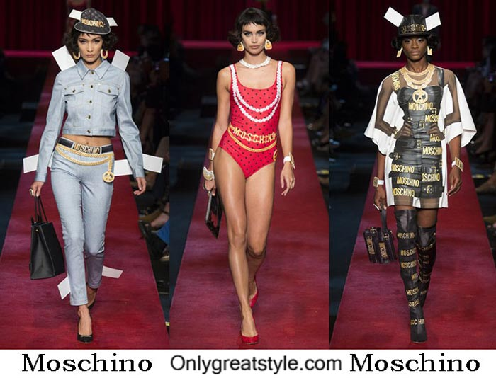 Moschino Spring Summer 2017 Fashion Clothing For Women