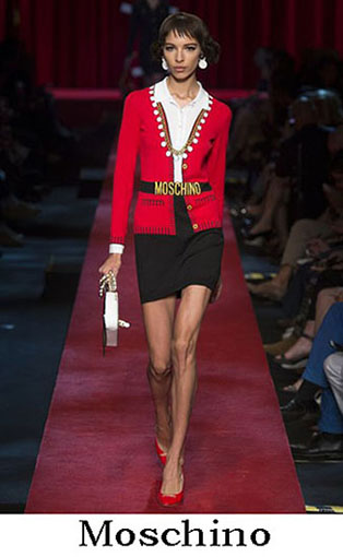 Moschino Spring Summer 2017 Fashion Clothing Women 11