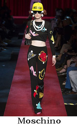 Moschino Spring Summer 2017 Fashion Clothing Women 28