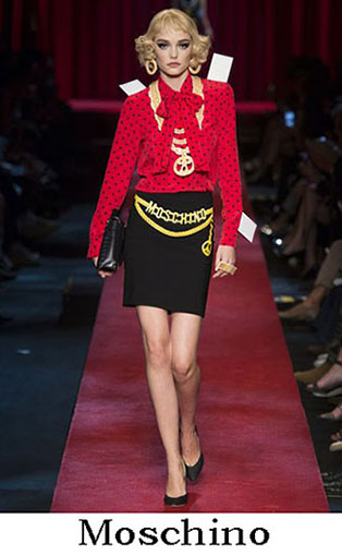 Moschino Spring Summer 2017 Fashion Clothing Women 4